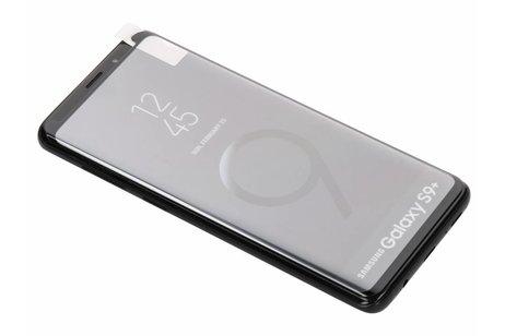 THOR Case-Fit Screenprotector + Easy Apply Frame voor Samsung Galaxy S9 Plus - Zwart