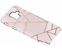 Selencia Pink Graphic Passion Hard Case Samsung Galaxy A6 (2018)