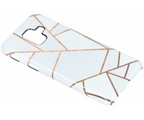 Selencia White Graphic Passion Hard Case Samsung Galaxy A6 (2018)