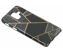 Selencia Black Graphic Passion Hard Case Samsung Galaxy A6 (2018)