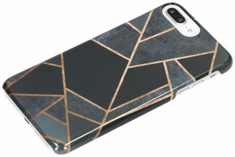 Passion Backcover voor iPhone 8 Plus / 7 Plus / 6(s) Plus - Grafisch Zwart / Koper