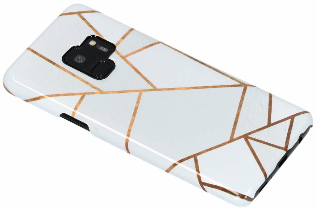 White Graphic Passion Hard Case voor de Samsung Galaxy S9