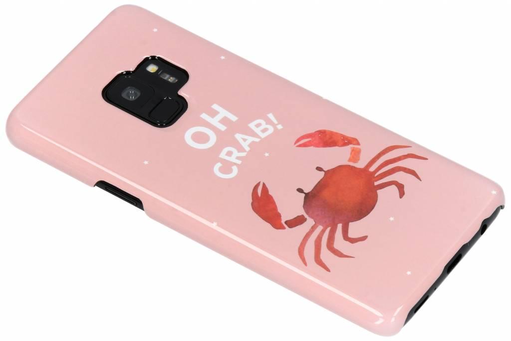 Oh Crab Passion Hard Case voor de Samsung Galaxy S9