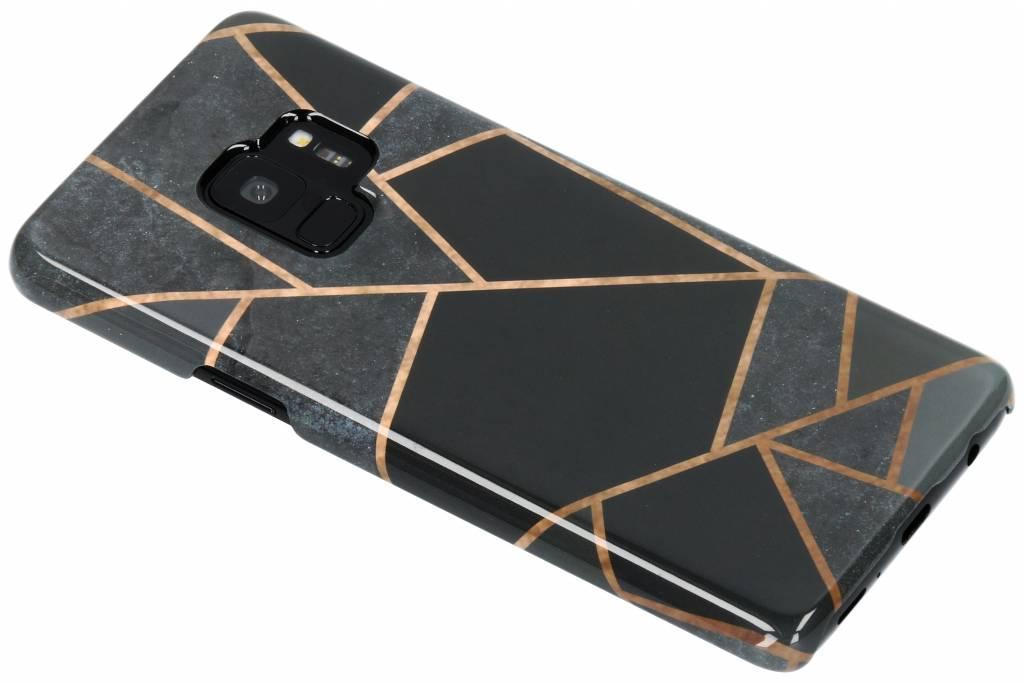 Black Graphic Passion Hard Case voor de Samsung Galaxy S9