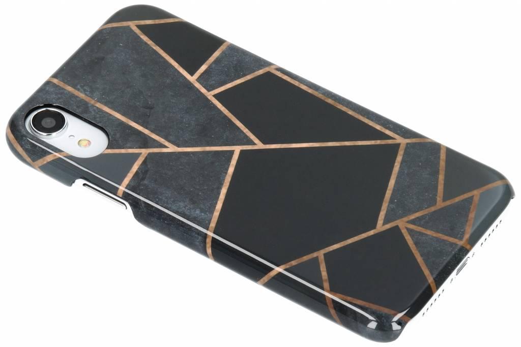 Selencia Black Graphic Passion Hard Case voor de iPhone Xr