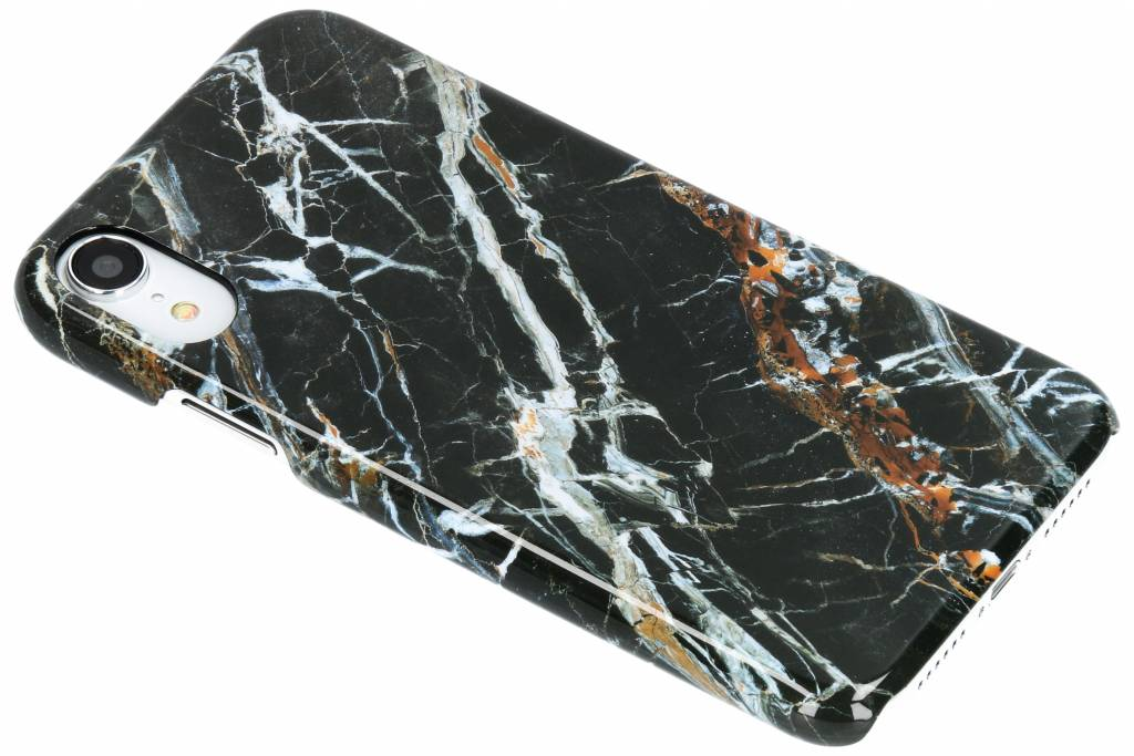 Selencia Black Marble Passion Hard Case voor de iPhone Xr