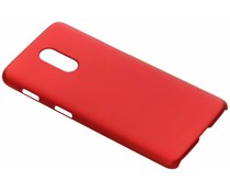 Rood effen hardcase hoesje OnePlus 6T