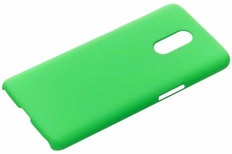 Effen Backcover voor OnePlus 6T - Groen