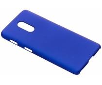 Blauw effen hardcase hoesje OnePlus 6T