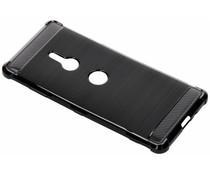 Zwart xtreme siliconen hoesje Sony Xperia XZ3
