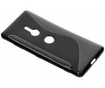 Zwart S-line TPU hoesje Sony Xperia XZ3