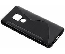 Zwart S-line TPU hoesje Huawei Mate 20