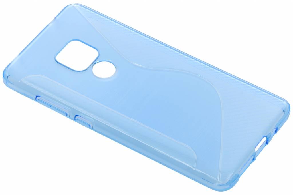 Blauw S-line TPU hoesje voor de Huawei Mate 20