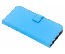Selencia Blauw Luxe TPU Book Case Huawei P Smart Plus