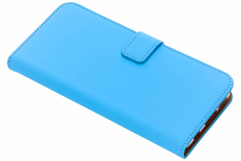 Selencia Blauwe Luxe TPU Book Case voor de Huawei P Smart Plus