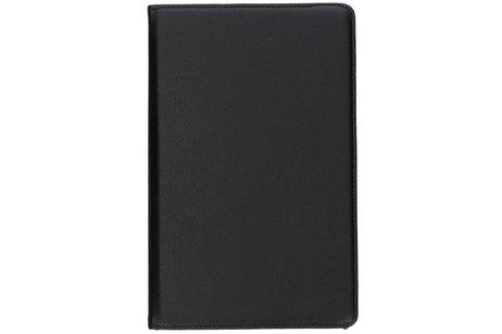 360° Draaibare Bookcase voor Samsung Galaxy Tab A 10.5 (2018) - Zwart