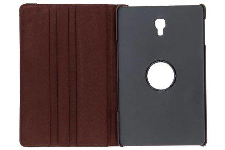 360° Draaibare Bookcase voor Samsung Galaxy Tab A 10.5 (2018) - Bruin