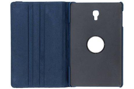 360° Draaibare Bookcase voor Samsung Galaxy Tab A 10.5 (2018) - Blauw
