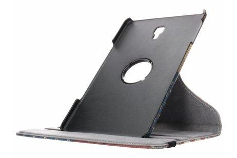 360° Draaibare Design Bookcase voor Galaxy Tab A 10.5 (2018) - Amerikaanse Vlag
