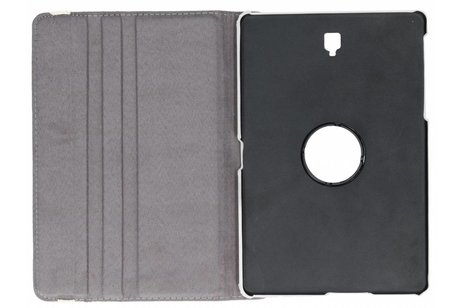 360° Draaibare Design Bookcase voor Samsung Galaxy Tab S4 10.5 - Spikkel