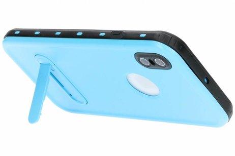 Redpepper Dot Plus Waterproof Backcover voor iPhone Xs Max - Blauw
