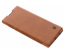 Nillkin Bruin Qin Leather slim booktype Sony Xperia XA2 Plus