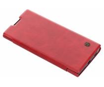 Nillkin Rood Qin Leather slim booktype Sony Xperia XA2 Plus