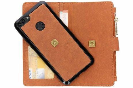 Huawei P Smart hoesje - Luxe Portemonnee voor Huawei