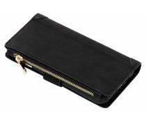 Zwart luxe portemonnee hoes iPhone Xs Max