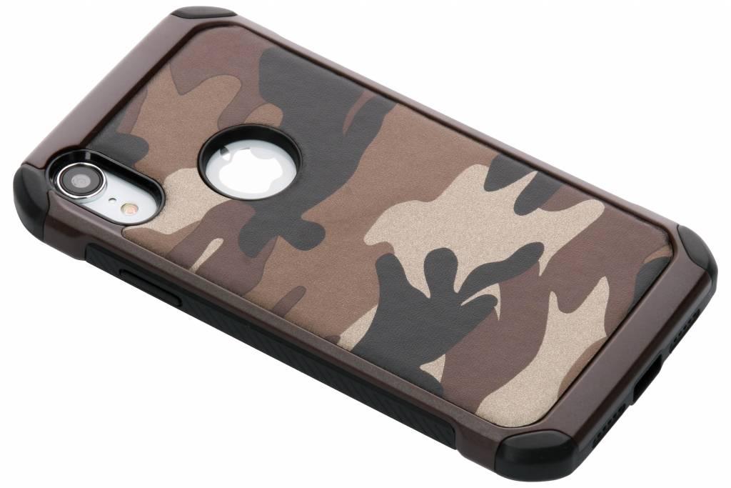 Bruin army defender hardcase hoesje voor de iPhone Xr