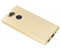 Carbon Softcase Backcover Sony Xperia XA2