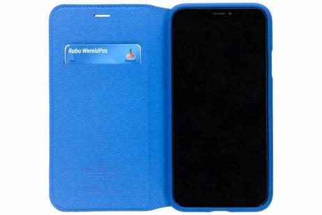 adidas Originals Book-style Wallet Case voor iPhone X / Xs - Blauw