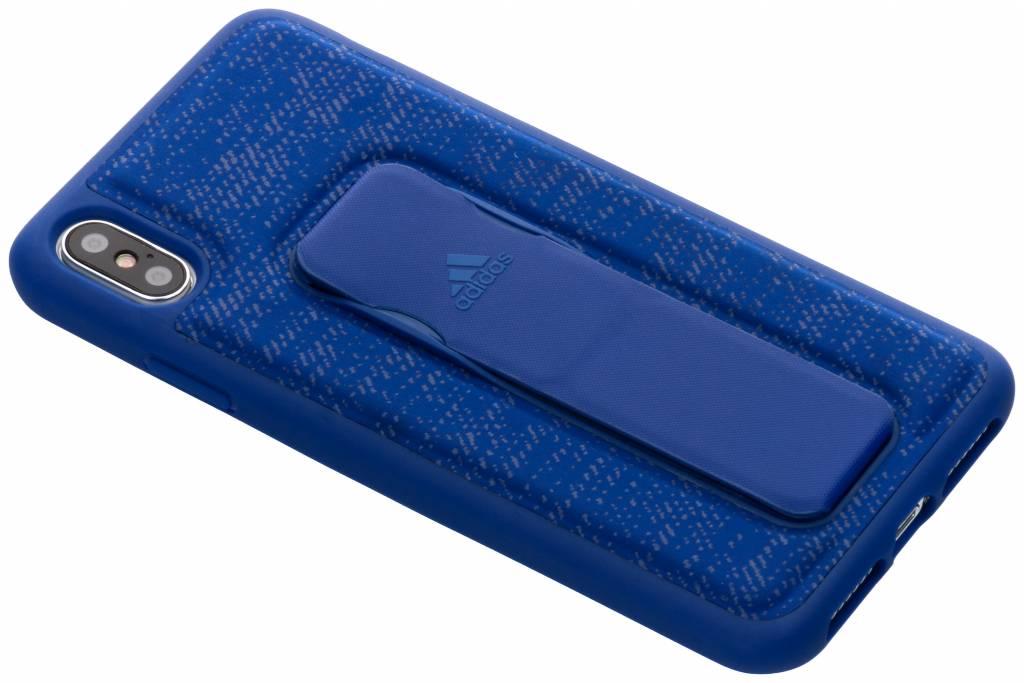 adidas Sports Blauwe Grip Case voor de iPhone Xs Max
