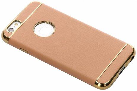 iPhone 6 / 6s hoesje - Luxe Lederen Backcover voor