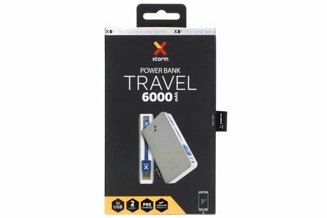 Xtorm Powerbank Travel met Micro-USB naar USB-kabel - 6000 mAh