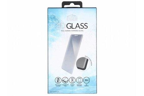Eiger Edge to Edge Glass Screenprotector voor Huawei Mate 20 Lite - Zwart
