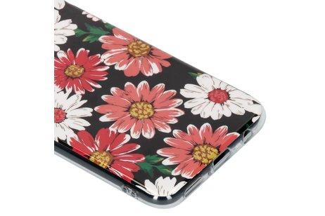Design Backcover voor Huawei Mate 20 Lite - Gekleurde Bloemen