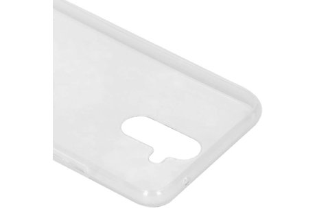 Design Backcover voor Huawei Mate 20 Lite - Marmer Wit / Paars