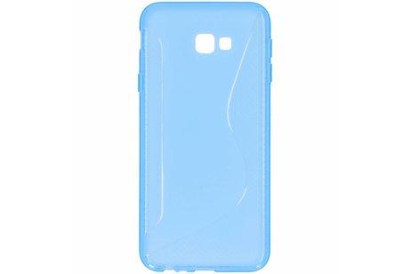 S-line Backcover voor Samsung Galaxy J4 Plus - Blauw