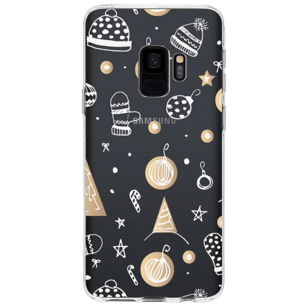 Design Backcover voor Samsung Galaxy S9 - Winter
