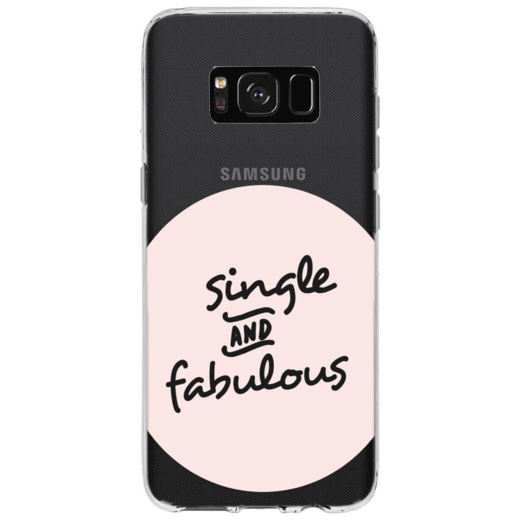 Fabulous design siliconen hoesje siliconen hoesje voor Samsung Galaxy S8