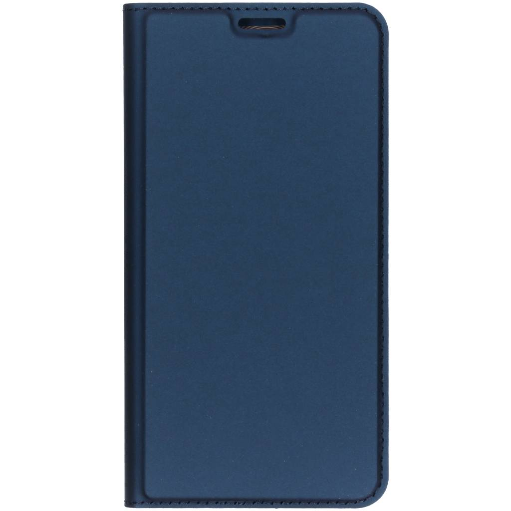 Dux Ducis Slim Softcase Booktype voor Xiaomi Redmi Note 6 Pro - Donkerblauw