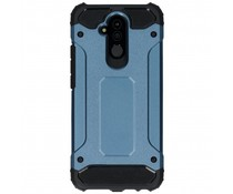Donkerblauw Rugged Xtreme Case Huawei Mate 20 Lite