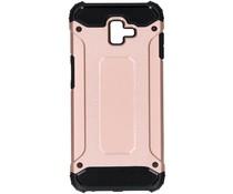 Rosé Goud Rugged Xtreme Case Samsung Galaxy J6 Plus