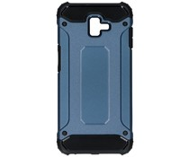 Blauw Rugged Xtreme Case Samsung Galaxy J6 Plus
