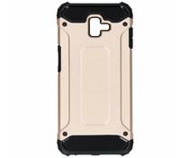 Goud Rugged Xtreme Case Samsung Galaxy J6 Plus