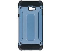 Donkerblauw Rugged Xtreme Case Samsung Galaxy J4 Plus