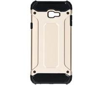 Goud Rugged Xtreme Case Samsung Galaxy J4 Plus
