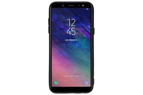 Samsung Galaxy A6 (2018) hoesje - Design Backcover Color voor