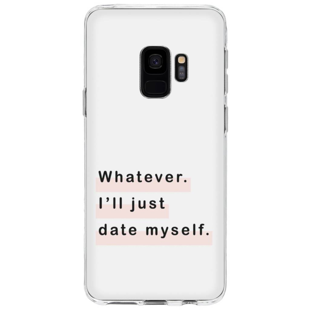 Whatever design siliconen hoesje voor Samsung Galaxy S9